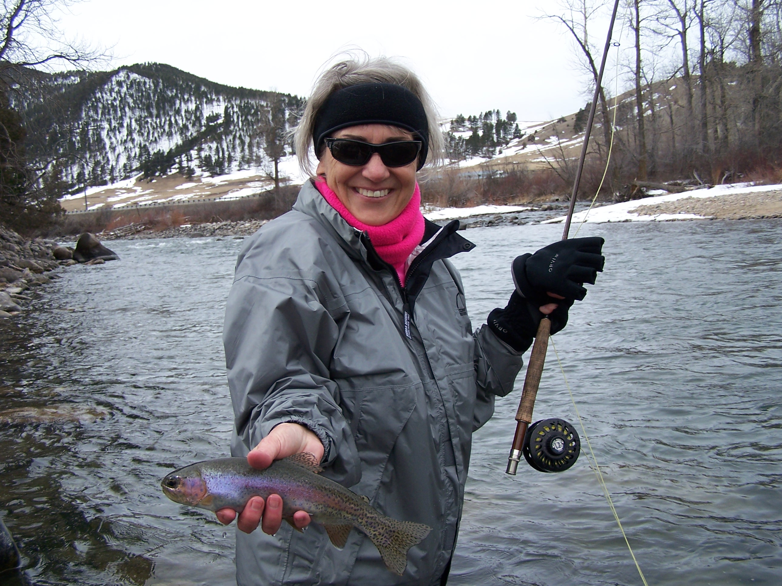 Gallatin River   Trout On The Fly